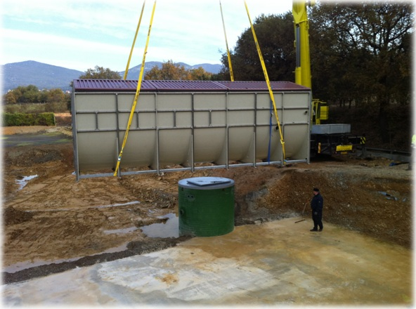 Projet installation Aquacorp